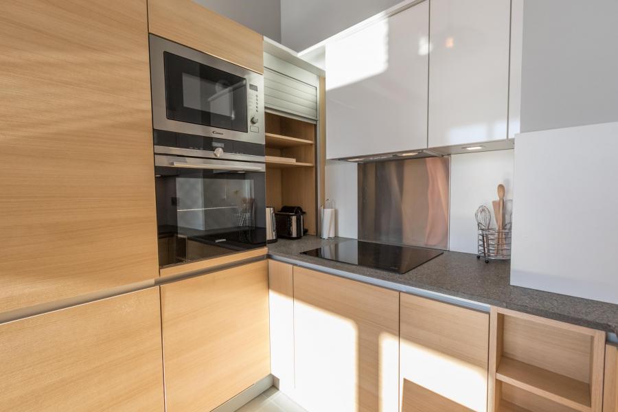 Wakacje w górach Apartament 5 pokojowy 10 osób (703) - Résidence les Monarques - Les Arcs - Kuchnia
