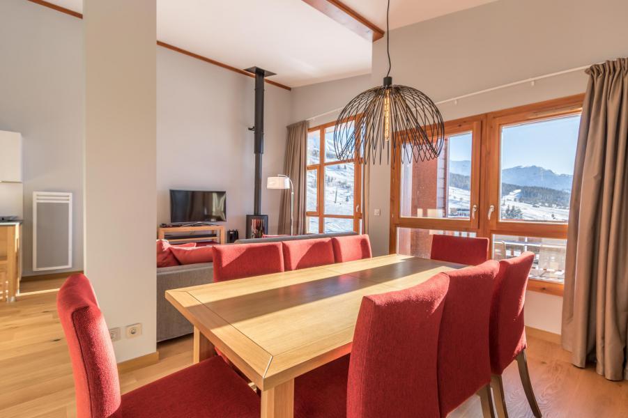 Wakacje w górach Apartament 5 pokojowy 10 osób (703) - Résidence les Monarques - Les Arcs - Stołem
