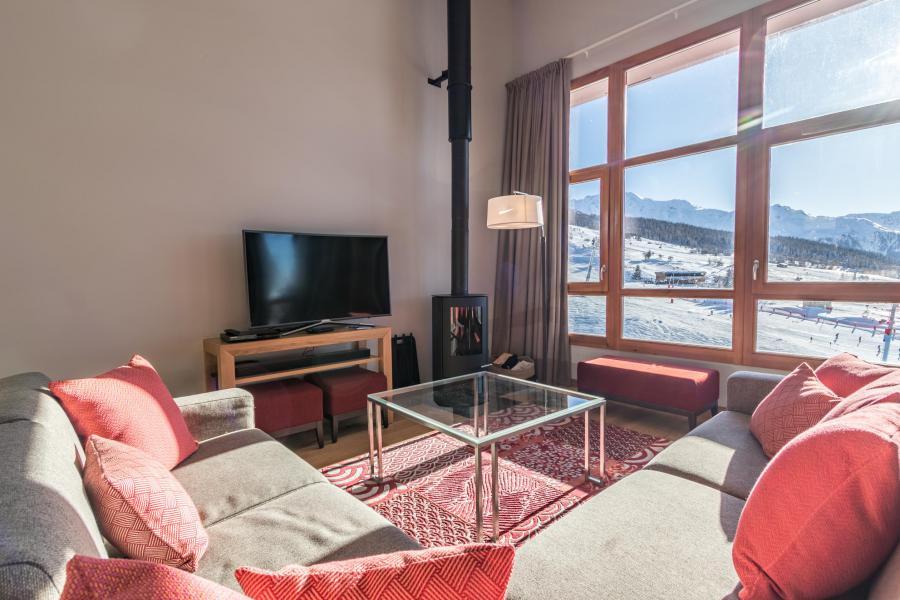 Wakacje w górach Apartament 5 pokojowy 10 osób (703) - Résidence les Monarques - Les Arcs - Stolikiem