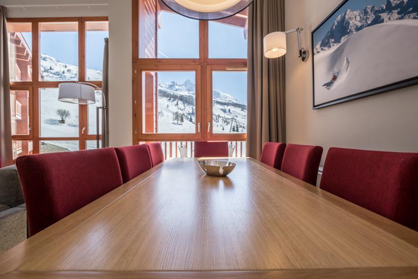 Wakacje w górach Apartament 5 pokojowy 7-9 osób (501) - Résidence les Monarques - Les Arcs - Stołem