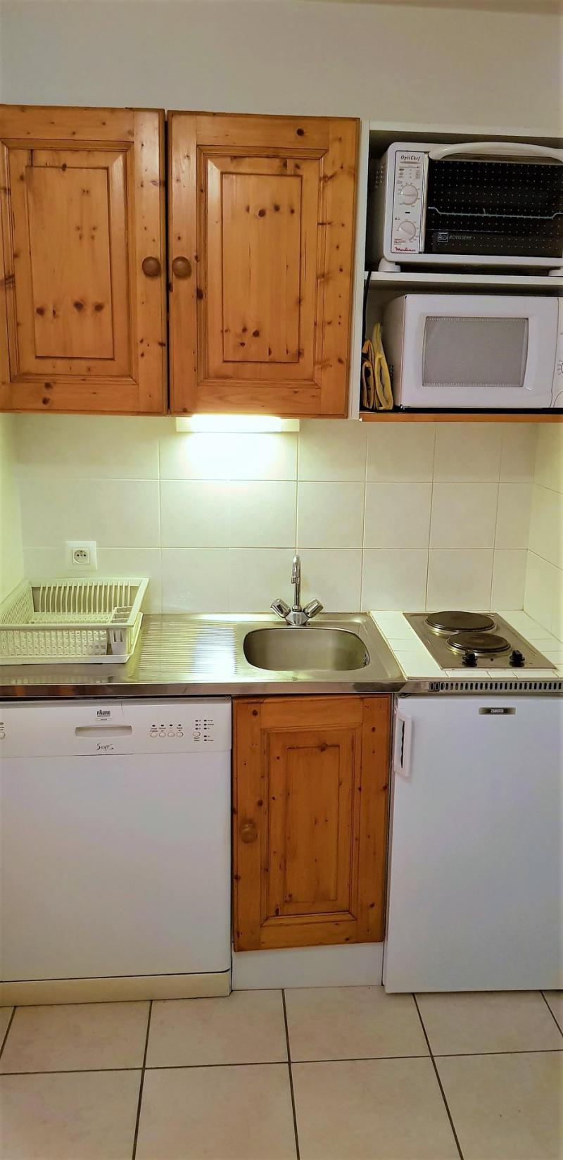 Wakacje w górach Apartament 2 pokojowy 4 osób (206) - Résidence Les Monts du Soleil - La Joue du Loup - Aneks kuchenny