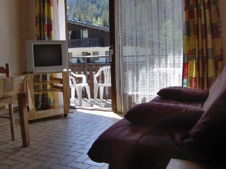 Vacaciones en montaña Apartamento 2 piezas para 4 personas (MOU001) - Résidence les Mouflons - Châtel - Estancia