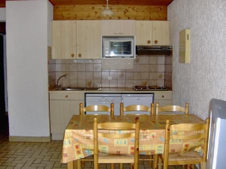 Vacaciones en montaña Apartamento 2 piezas para 4 personas (MOU001) - Résidence les Mouflons - Châtel - Kitchenette