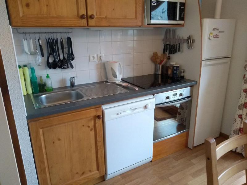 Vacaciones en montaña Apartamento 2 piezas para 6 personas (921) - Résidence les Mouflons - La Joue du Loup - Cocina abierta