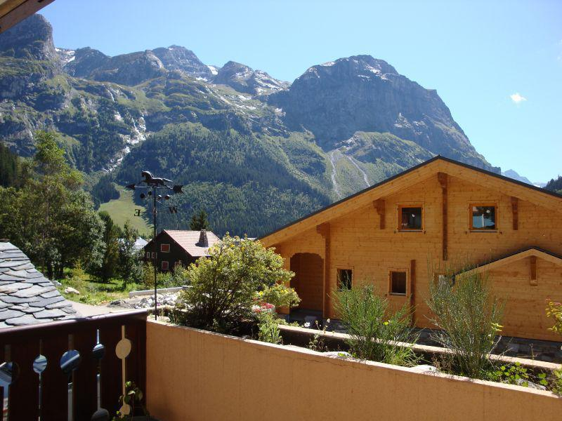 Wakacje w górach Apartament 3 pokojowy kabina 6 osób (2) - Résidence les Murgers - Pralognan-la-Vanoise - Na zewnątrz latem
