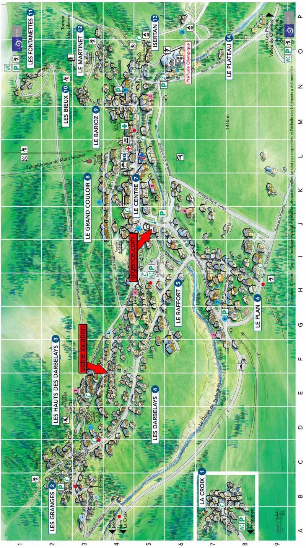 Vacaciones en montaña Résidence les Murgers - Pralognan-la-Vanoise - Plano