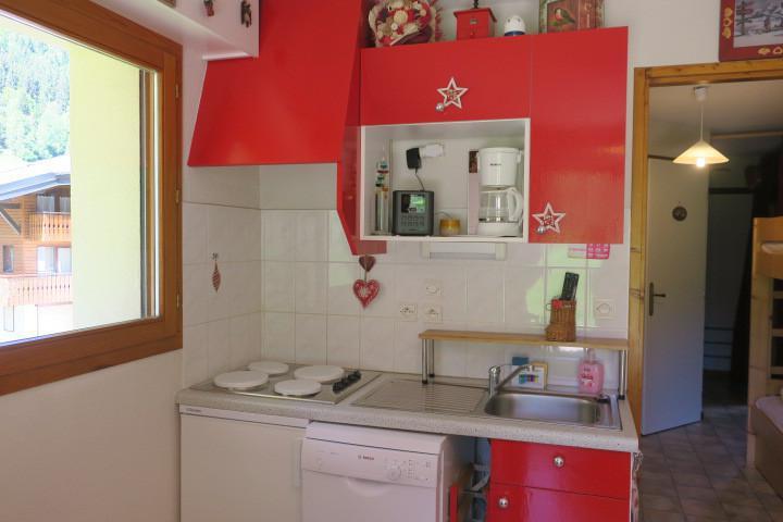 Vakantie in de bergen Appartement 2 kamers bergnis 4 personen (8) - Résidence les Myrtilles - Châtel
