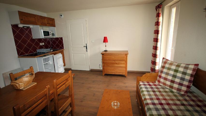 Vacaciones en montaña Apartamento 2 piezas para 4 personas (U003) - Résidence les Myrtilles - Vars - Alojamiento