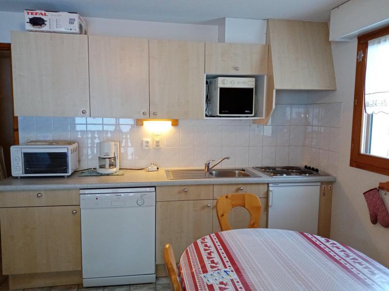 Vacances en montagne Appartement 2 pièces cabine 6 personnes (9) - Résidence les Myrtilles - Châtel - Cuisine