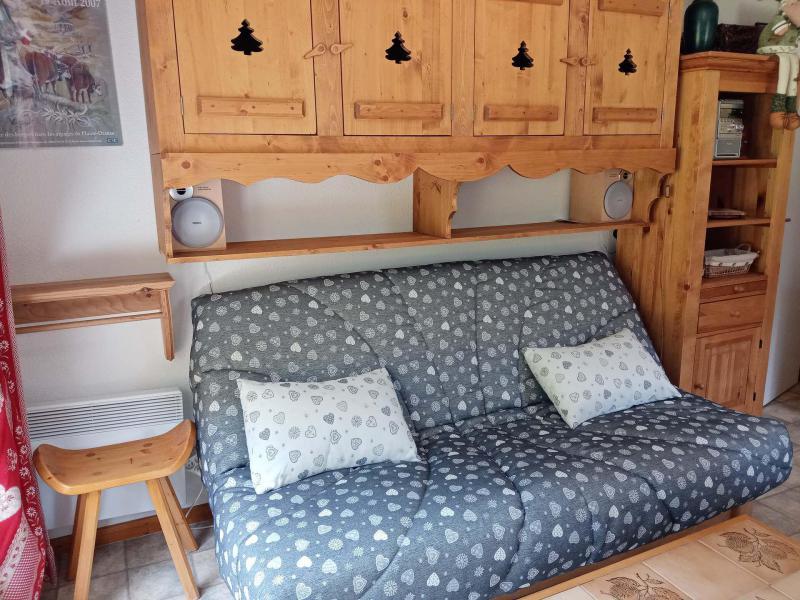 Vacances en montagne Appartement 2 pièces cabine 6 personnes (9) - Résidence les Myrtilles - Châtel - Table