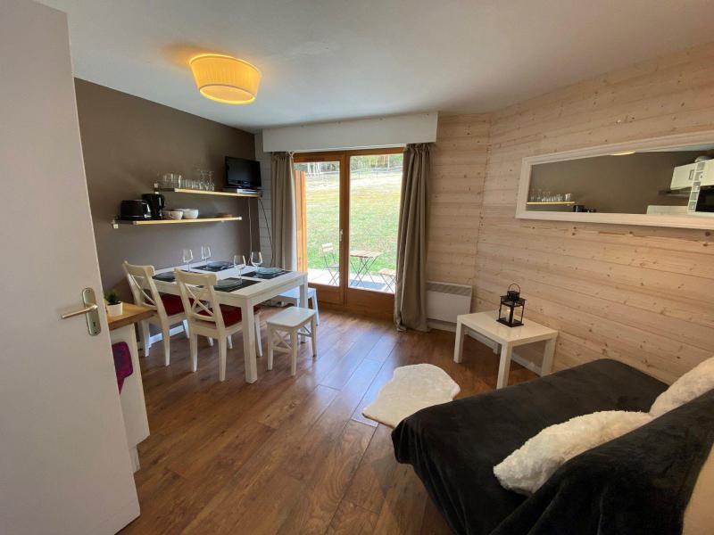 Vacances en montagne Appartement 2 pièces coin montagne 6 personnes (4) - Résidence les Myrtilles - Châtel - Canapé-lit