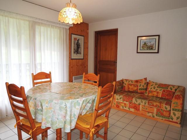 Vacances en montagne Appartement 3 pièces 5 personnes (18) - Résidence les Myrtilles - Châtel - Lit d'appoint 1 personne