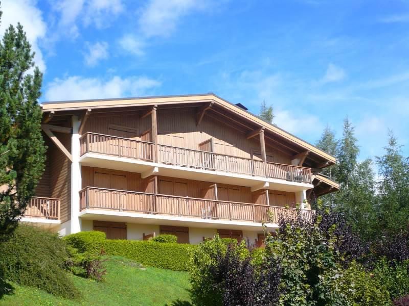 Holiday in mountain resort Studio 4 people (738) - Résidence les Oréades - Combloux