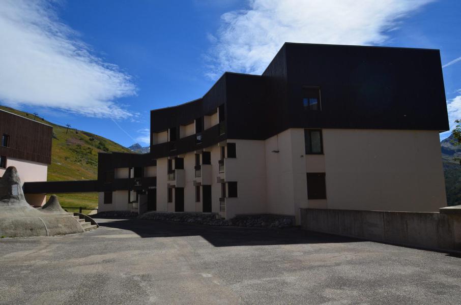 Location au ski Résidence les Origanes - Les Menuires - Extérieur été