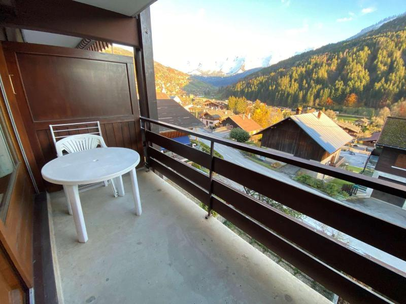 Holiday in mountain resort Studio sleeping corner 4 people (9) - Résidence les Parasses - Le Grand Bornand