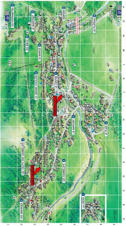 Vacaciones en montaña Résidence les Pariettes - Pralognan-la-Vanoise - Plano