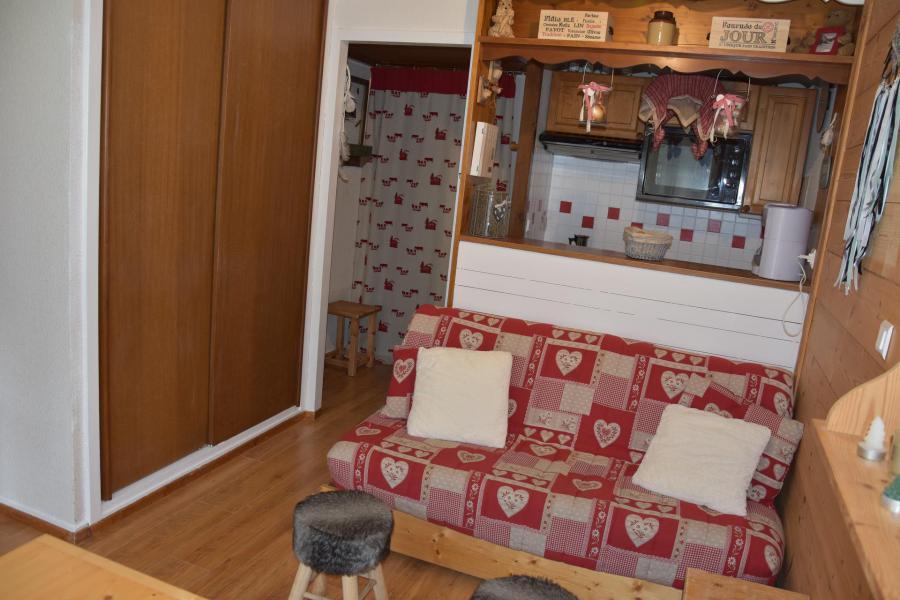 Vacaciones en montaña Apartamento 2 piezas para 4 personas (CA5) - Résidence les Pariettes - Pralognan-la-Vanoise - Sofá-cama
