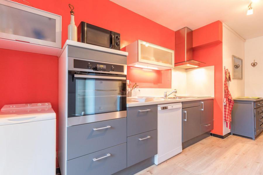 Wakacje w górach Apartament 3 pokojowy 6 osób (LEC015) - Résidence les Pellenches - Serre Chevalier - Aneks kuchenny