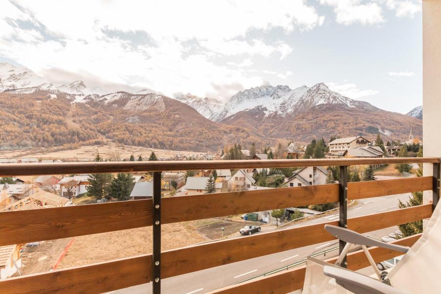 Wakacje w górach Apartament 3 pokojowy 6 osób (LEC015) - Résidence les Pellenches - Serre Chevalier - Balkon