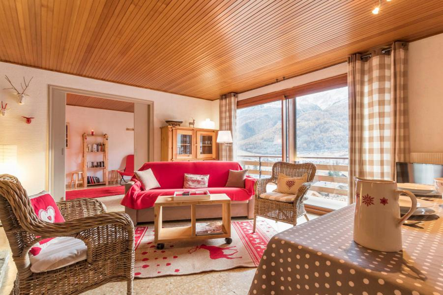 Wakacje w górach Apartament 3 pokojowy 6 osób (LEC015) - Résidence les Pellenches - Serre Chevalier - Pokój gościnny