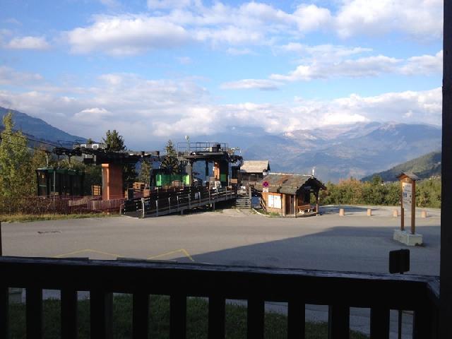 Location au ski Studio 4 personnes (009) - Résidence les Pierres Plates - Valmorel - Extérieur été