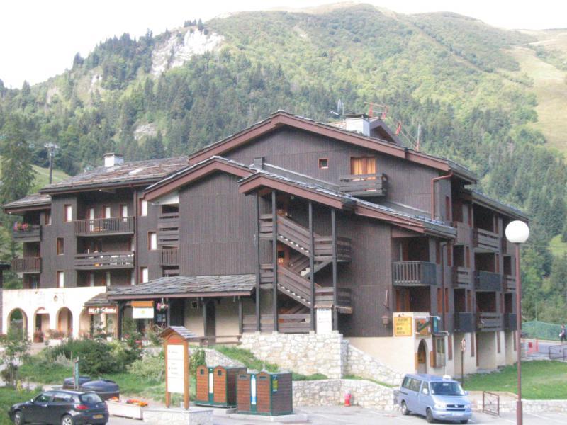 Location au ski Résidence les Pierres Plates - Valmorel - Extérieur été