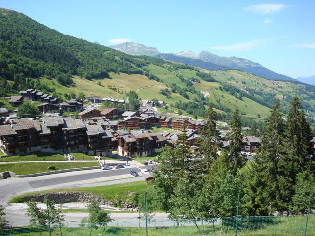 Location au ski Appartement 3 pièces 7 personnes (054) - Résidence les Pierres Plates - Valmorel - Extérieur été