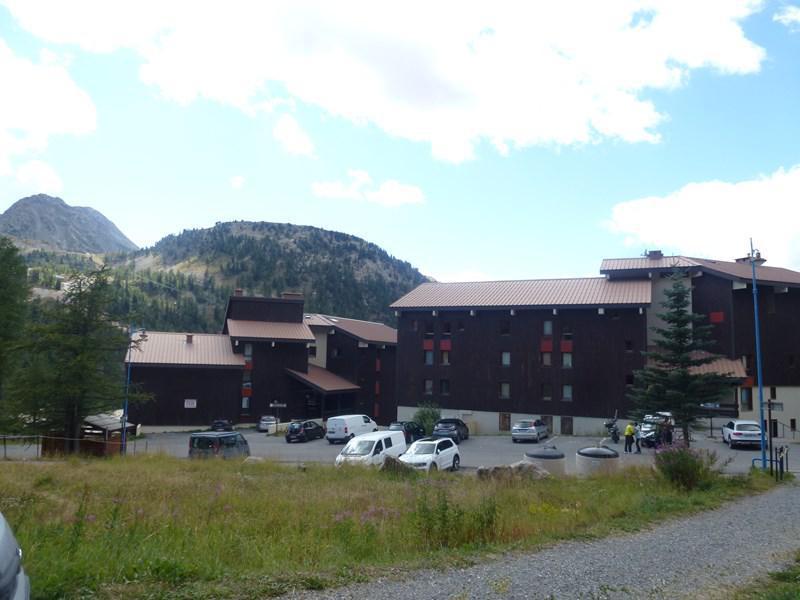 Аренда на лыжном курорте Делящаяся квартира студия для 4 чел. (PC102 HAM) - Résidence les Pincembros - Isola 2000 - летом под открытым небом