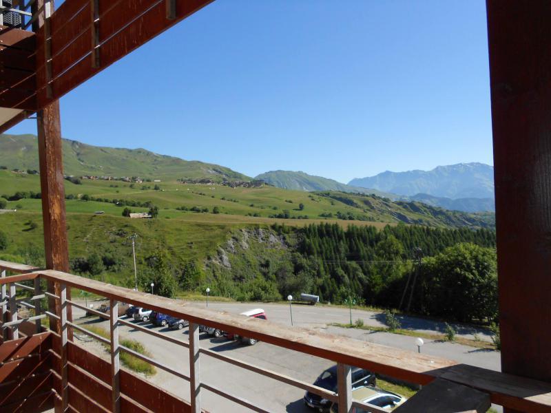 Wakacje w górach Apartament 3 pokojowy 6 osób (C93) - Résidence les Pistes - Le Corbier - Na zewnątrz latem