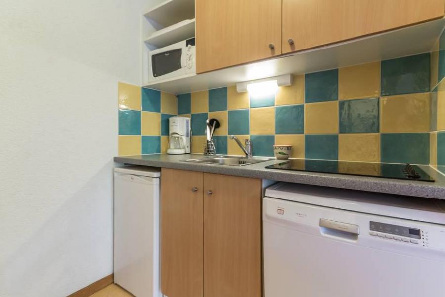Wakacje w górach Apartament 2 pokojowy 4 osób (A12) - Résidence les Pistes - Le Corbier - Aneks kuchenny