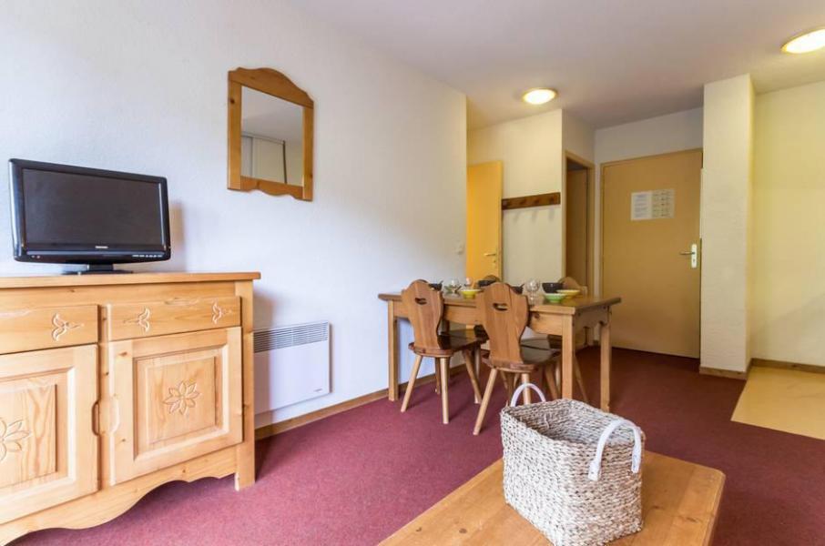 Wakacje w górach Apartament 2 pokojowy 4 osób (A12) - Résidence les Pistes - Le Corbier - Pokój gościnny