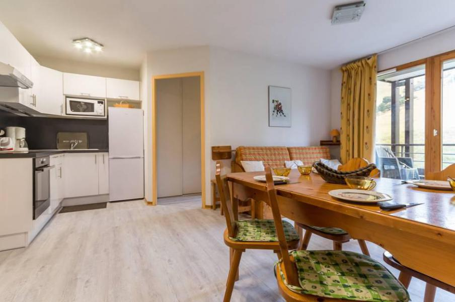 Wakacje w górach Apartament 3 pokojowy 6 osób (A21) - Résidence les Pistes - Le Corbier - Pokój gościnny