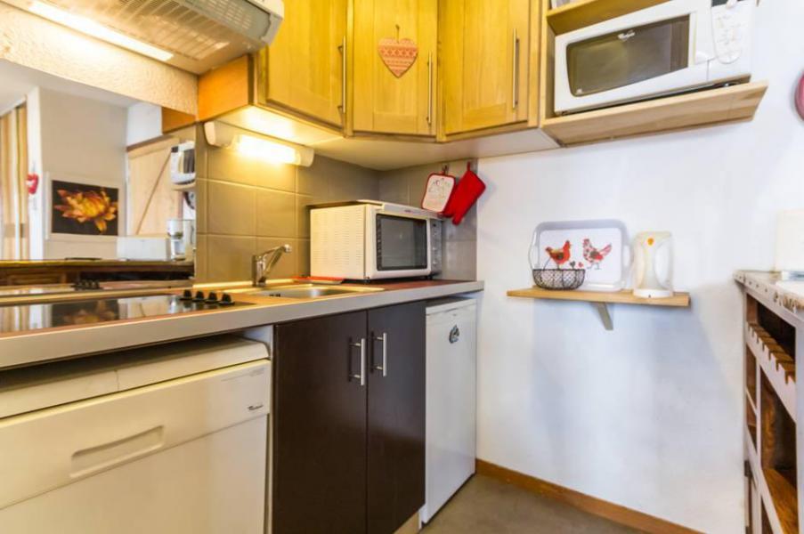 Wakacje w górach Apartament 3 pokojowy 6 osób (C93) - Résidence les Pistes - Le Corbier - Aneks kuchenny