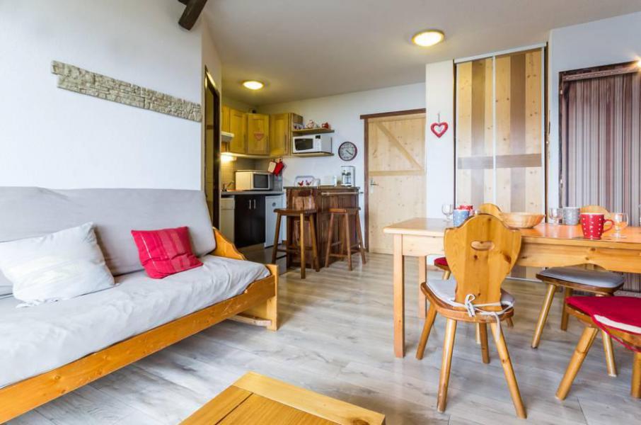 Wakacje w górach Apartament 3 pokojowy 6 osób (C93) - Résidence les Pistes - Le Corbier - Pokój gościnny