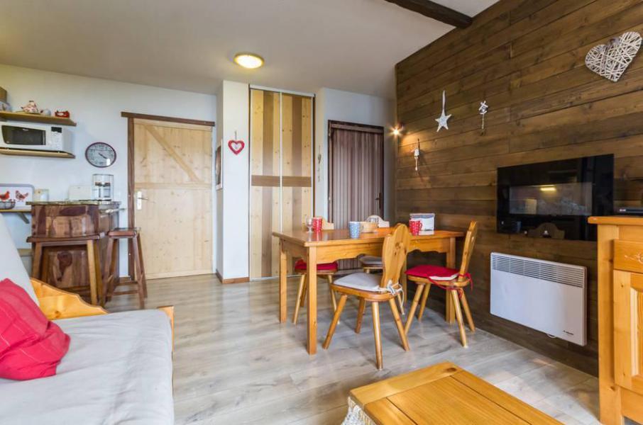 Wakacje w górach Apartament 3 pokojowy 6 osób (C93) - Résidence les Pistes - Le Corbier - Salon