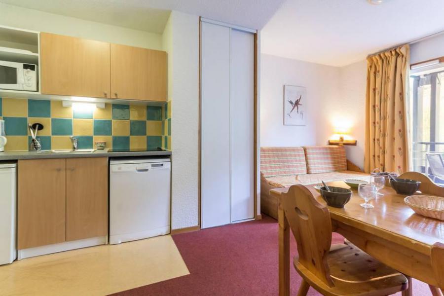 Vacaciones en montaña Apartamento 2 piezas para 4 personas (A12) - Résidence les Pistes - Le Corbier - Mesa