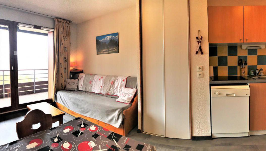 Vacaciones en montaña Apartamento 2 piezas para 4 personas (B74) - Résidence les Pistes - Le Corbier - Estancia