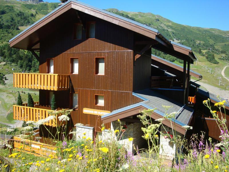 Vacances en montagne Résidence les Plattières - Méribel-Mottaret - Extérieur été
