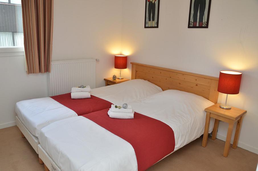 Urlaub in den Bergen Résidence les Pléiades - Flaine - Doppelbett