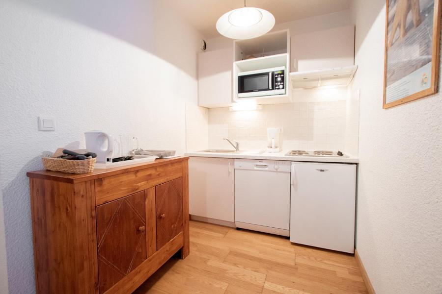 Vacaciones en montaña Apartamento 2 piezas para 4 personas (SB507A) - Résidence les Portes de la Vanoise - La Norma - Banqueta con cama cajón