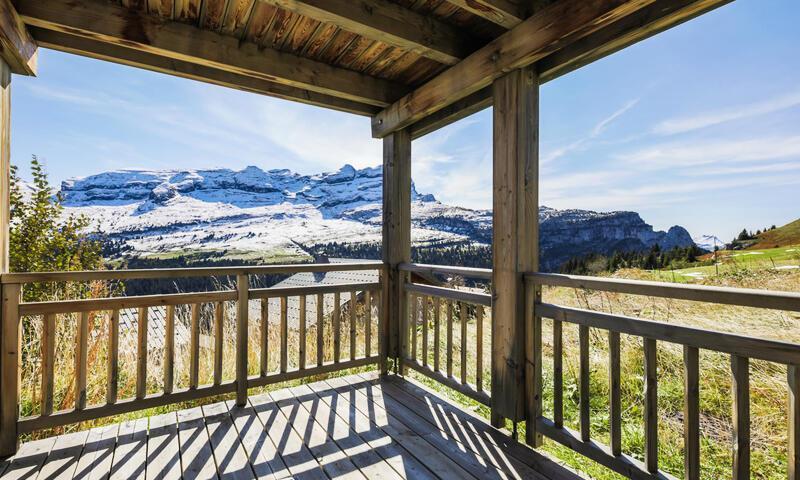Vacances en montagne Résidence les Portes du Grand Massif - Maeva Home - Flaine - Extérieur été
