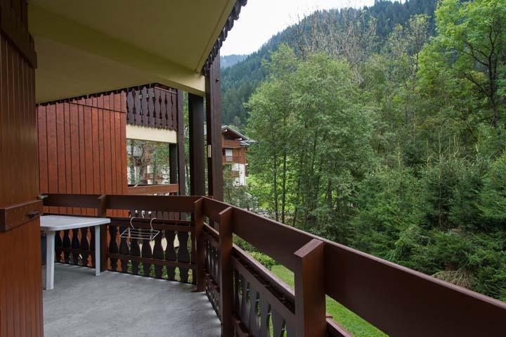 Vacaciones en montaña Apartamento 2 piezas cabina para 5 personas (PRA006) - Résidence les Praz - Châtel - Balcón