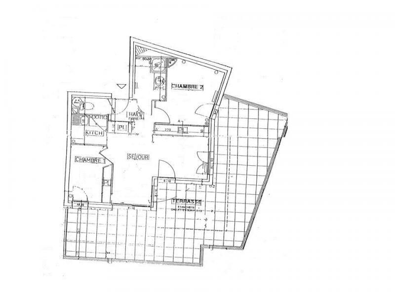 Vacances en montagne Appartement 3 pièces 7 personnes (07 R) - Résidence les Presles - Peisey-Vallandry - Plan