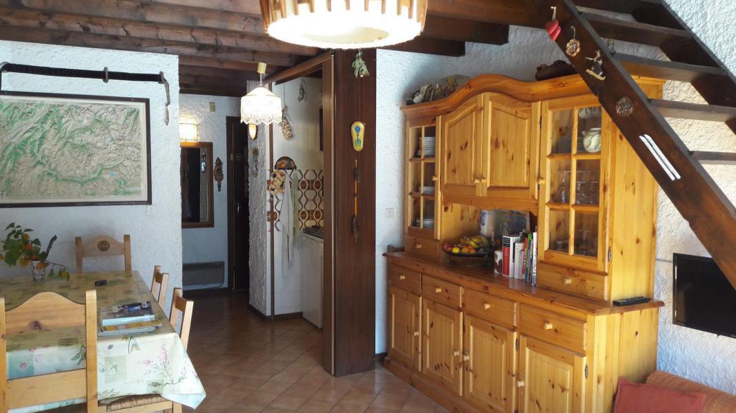 Wakacje w górach Apartament duplex 3 pokojowy 6 osób (006CL) - Résidence les Primevères - Champagny-en-Vanoise - Stołem