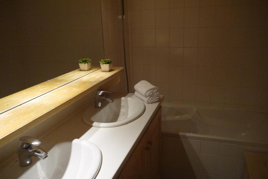 Vacances en montagne Appartement 2 pièces 5 personnes (034) - Résidence les Provères - Méribel-Mottaret - Baignoire