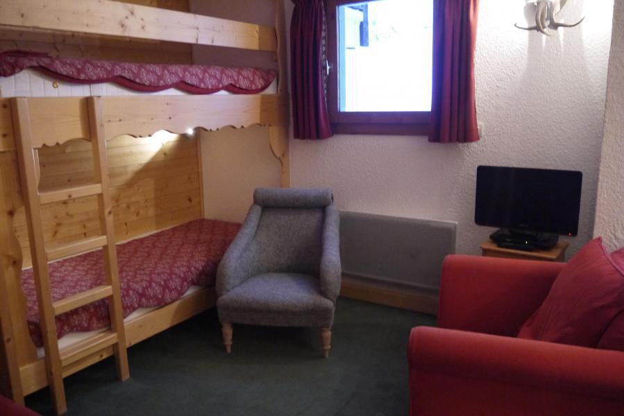 Vacances en montagne Appartement 2 pièces 5 personnes (034) - Résidence les Provères - Méribel-Mottaret - Lits superposés