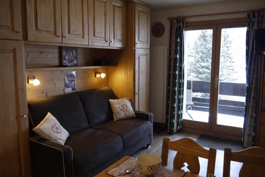 Vacances en montagne Studio 3 personnes (002) - Résidence les Provères - Méribel-Mottaret - Logement