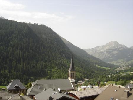 Vacaciones en montaña Estudio para 3 personas (RHO504) - Résidence les Rhododendrons - Châtel - Verano