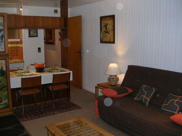 Wakacje w górach Studio 3 osoby (RHO504) - Résidence les Rhododendrons - Châtel - Pokój gościnny