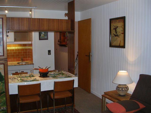 Vacances en montagne Studio 3 personnes (RHO504) - Résidence les Rhododendrons - Châtel - Coin repas